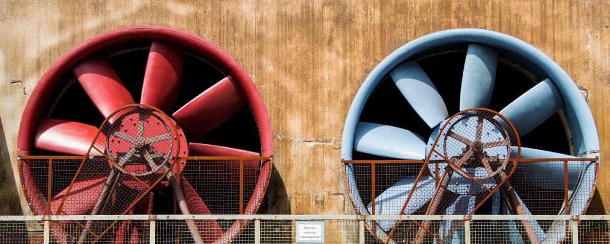 ventilatori industriali tipologie